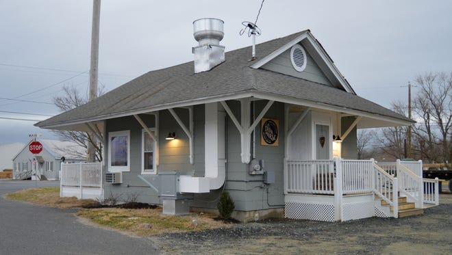 The Iron Horse Coffee House & Eatery was once the Willards train station.