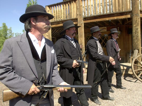 Three men were killed in 30 seconds on Oct. 26, 1881, when guns blazed near the O.K. Corral in Tombstone.