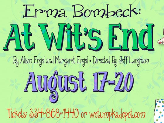 Erma Bombeck: At Wit's End is Aug. 17-20 at the Wetumpka