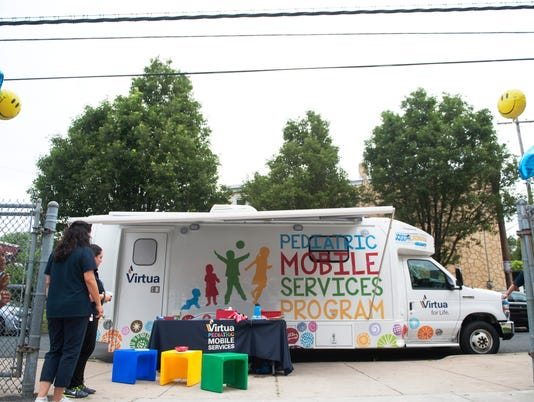 Virtua's new Pediatric Mobile Services van