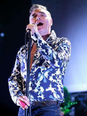 Morrissey, former singer for the '80s alternative rock band the Smiths, performs in 2013 in Reading, Pa.