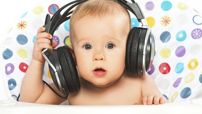 Studies show that babies can create musical tunes and melodies before they can even talk.