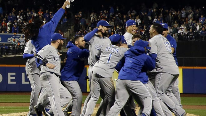 The Kansas City Royals won their first World Series title since 1985.