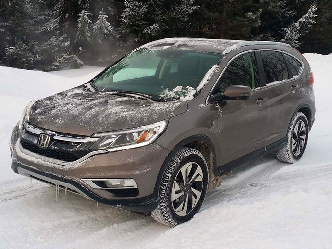 The fourth generation Honda CR-V receives the most