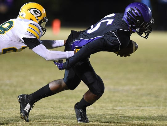 Cane Ridge's Jared McCray (right)