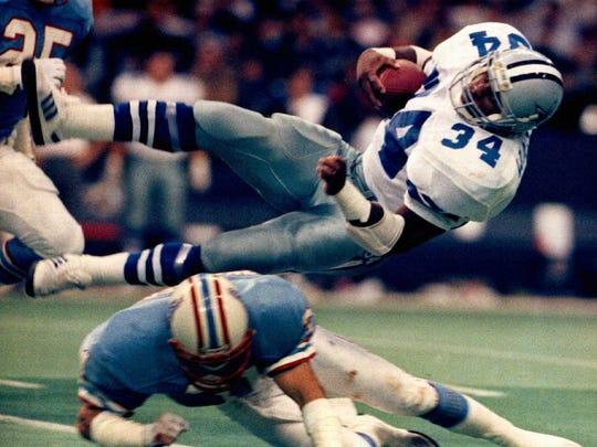 Former Dallas Cowboys running back Herschel Walker