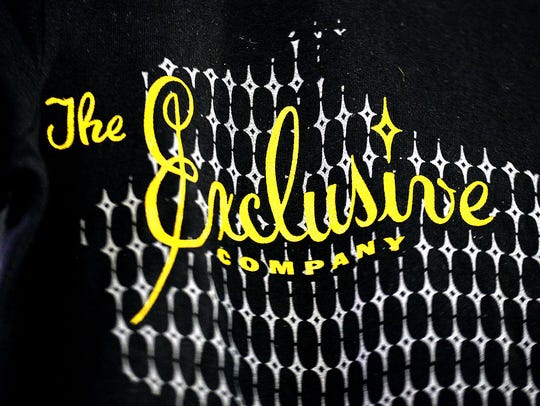 Detail on a t-shirt for sale at The Exclusive Company