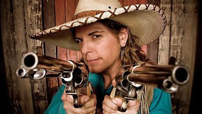 Performers will have their six-guns blazin' during the Wild Western Festival.