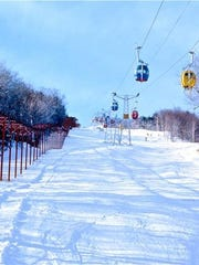 Mount Snow has one of the biggest tubing hills in the state.