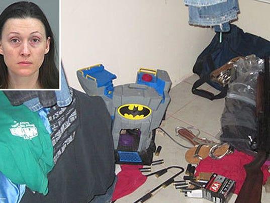 GAN WIFE SHOOTS HUSBAND 010614