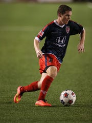 Indy Eleven forward Mike Ambersley
