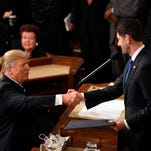 Full text of President Trump's first address to Congress