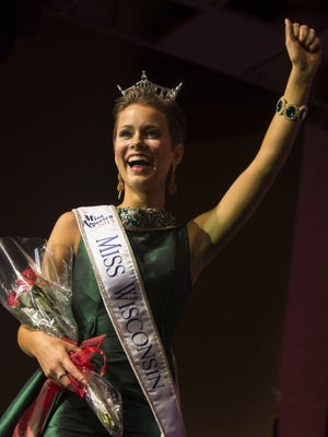 Miss New Berlin Rosalie Smith was crowned the new Miss Wisconsin 2015 during the scholarship pageant at the Alberta Kimball Auditorium on June 20, 2015.