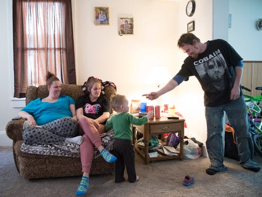 The Rackley family is building their lives back up after several years of drug abuse and are now learning how to live a drug-free life.