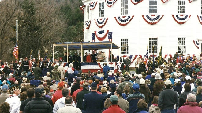 Veterans Day observance on Nov. 6, 1999, in Richmond.