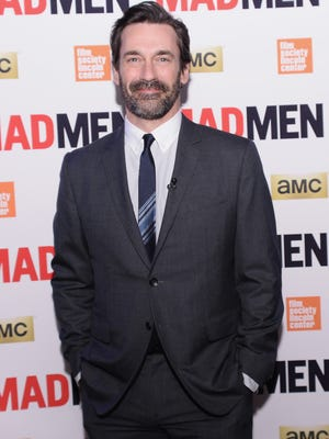 """FILE  MARCH 24, 2015: Actor Jon Hamm completed a 30 day treatment program for alcohol abuse at Silver Hill Hospital in New Canaan, Connecticut. According to reports, Hamm entered the facility at the end of February. Hamm has recently been promoting the final season of Mad Men, which beings on April 5th. NEW YORK, NY - MARCH 21:  Jon Hamm attends the """"Mad Men"""" special screening at The Film Society of Lincoln Center on March 21, 2015 in New York City.  (Photo by Stephen Lovekin/Getty Images)"""