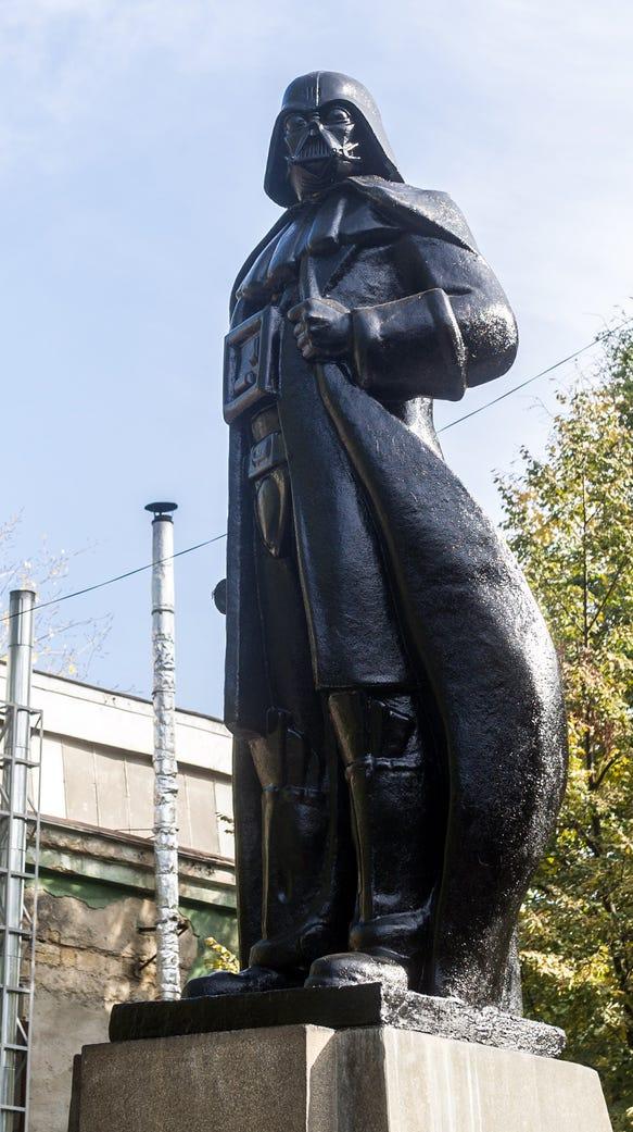 Vladimir Lenin statue gets Darth Vader makeover