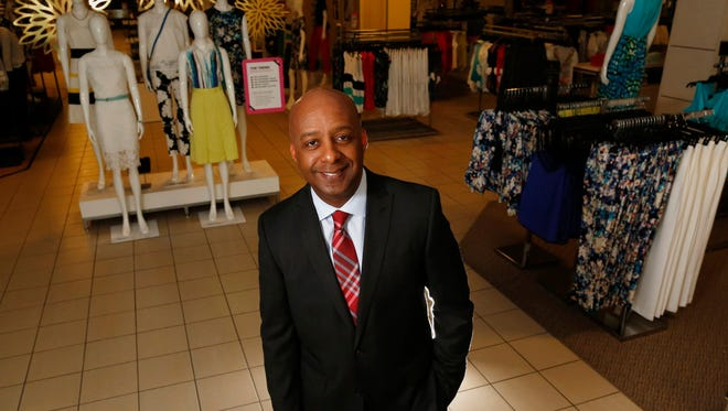 J.C. Penney president and CEO Marvin Ellison at the J.C. Penney store at Stonebriar Centre in Frisco, Texas, on March 31, 2015. Ellison is turning heads with the company's turnaround.