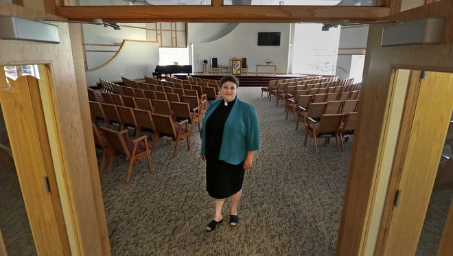 The Rev. Leah Hart-Landsberg leads the Fox Valley Unitarian Universalist Fellowship in Appleton. The Fellowship voted to declare itself a sanctuary congregation.