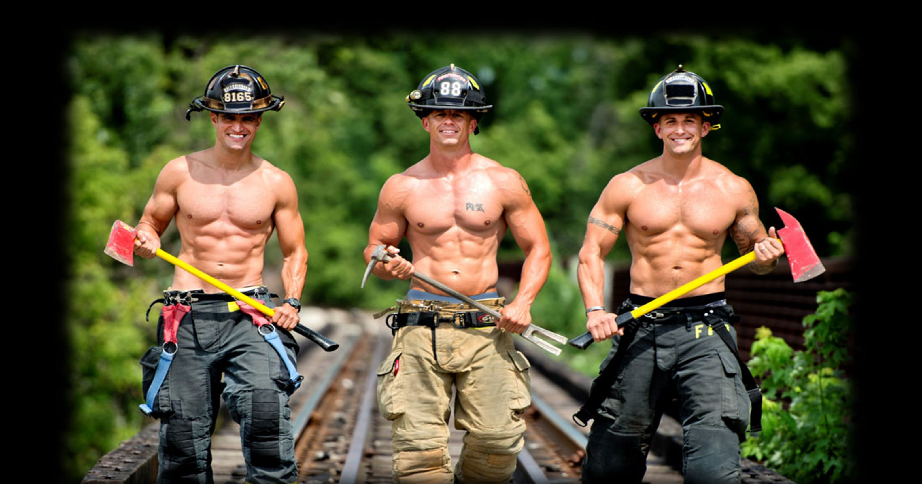 Hamilton County firefighters strip for the greater good