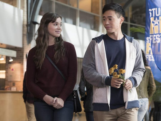 "Hailee Steinfeld and Hayden Szeto in ""The Edge of Seventeen"""