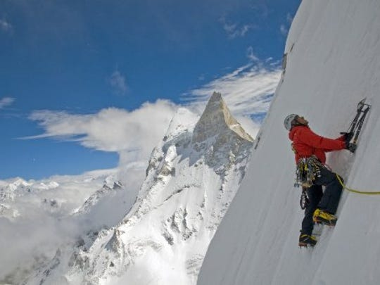 """Meru"" follows the adventures of three climbers and"