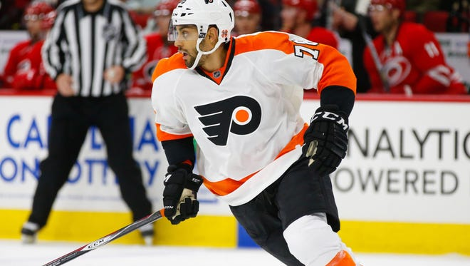 Pierre-Edouard Bellemare has four goals and four assists in 61 games this season.