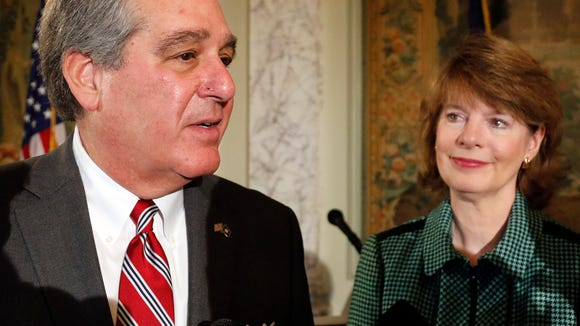 Jerry Abramson, and his wife, Madeline