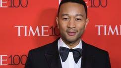 John Legend at the TIME 100 Gala.