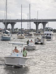 Images of Blessing of the Fleet at the Vero Beach Yacht Club in Vero Beach on Saturday, November 14, 2015.   (HOBIE HILER/ SPECIAL TO TREASURE COAST NEWSPAPERS)