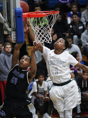 Tyler Harris, the leading scorer in the city, and his Cordova teammates host White Station Tuesday.