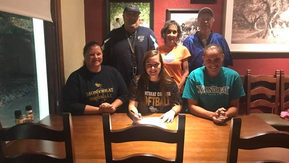 Reynolds junior Ariel Frizzell will play softball at