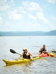 Paddle in and along the Susquehanna River with help