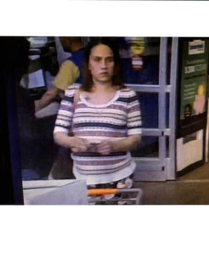 Police have identified the woman accused of spraying two people in the Walmart parking lot, 4140 W. Greenfield Ave., with pepper spray on Sunday, April 1. An arrest warrant is out for Desirea M. Hall, who is charged with two counts of misdemeanor battery.