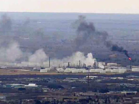 Refinery Explosion Wisconsin
