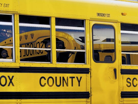 Four Knox County school bus drivers are facing criminal