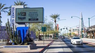 Downtown Mesa, with the Mesa Arts Center and shops along Main Street and Center, is where officials want to create an innovation district.