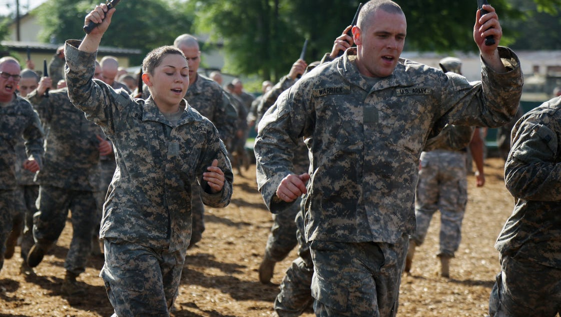 Women not clamoring to enter combat arms fields for Combat portent 30 20