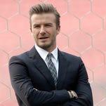 Pro soccer player David Beckham: May 2, 1975.