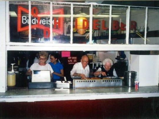 The Olde Heidelberg Inn, shown here in its heydey,