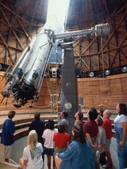 Guided tours at Lowell Observatory include the Clark telescope used by founder Percival Lowell.