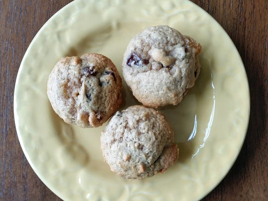 These little raisin muffins can be served as is or