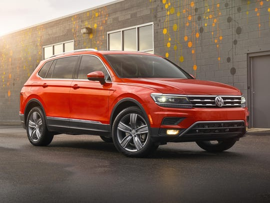 The Tiguan excels in functionality, interior materials,