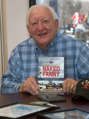 Pensacola resident Scott Harrington has written a new book to pay tribute to the pilots and aircrews of helicopter rescue missions during the early days of Vietnam.