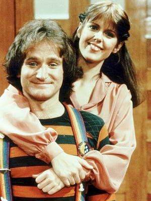 Pam Dawber and Robin Williams will appear together on TV later this season.