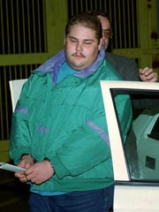 The real Shawn Eckardt in 1994 after he was arrested