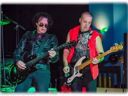 Bobby Noxious and Matt Moran of The Zotz