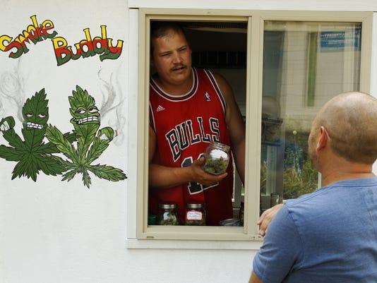 Mobile Cart-Marijuana