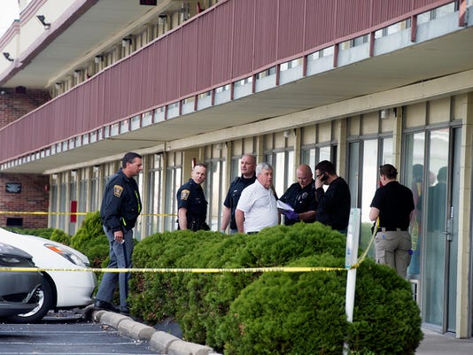 Three people were found dead at a Quality Inn in Springettsbury Township, Pa. Springettsbury Township Police say the incident was a double homicide-suicide.  Paul Kuehnel - Daily Record/Sunday News