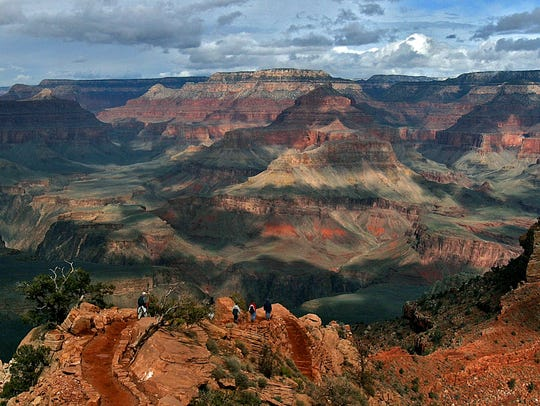 This Feb. 22, 2005, file photo shows the North Rim